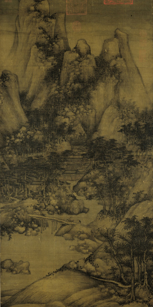 Xiao Yi Acquiring the Orchid Pavilion Preface by Deception
