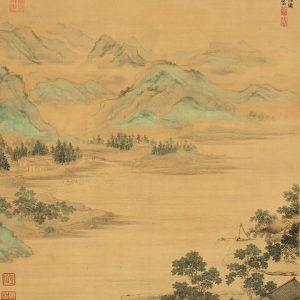 qiu-ying_fishermen-in-reclusion-at-the-lotus-stream