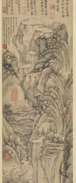 Majestic Mountains and Tall Bamboos