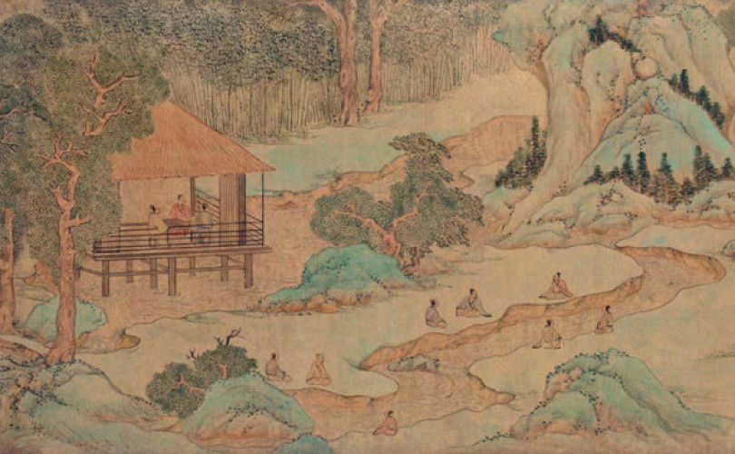 wen-zhengming_orchid-pavilion_painting