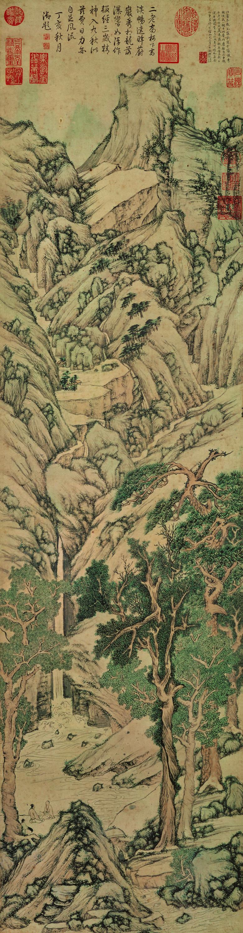 wen-zhengming_thousands-of-cliffs