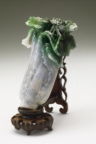 Jadeite cabbage, National Palace Museum