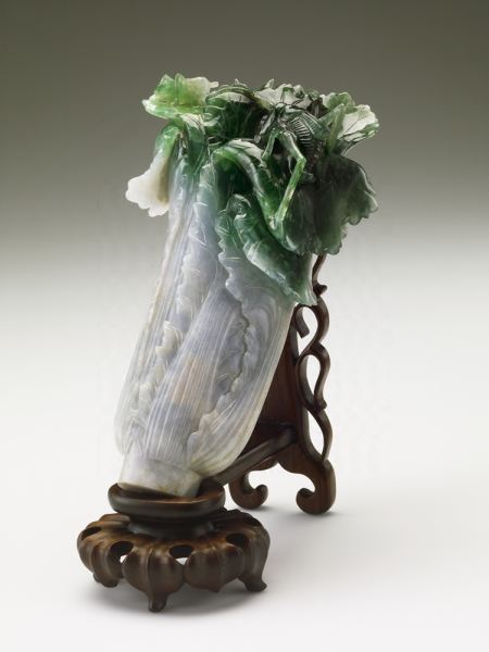 Jadeite cabbage, National Palace Museum