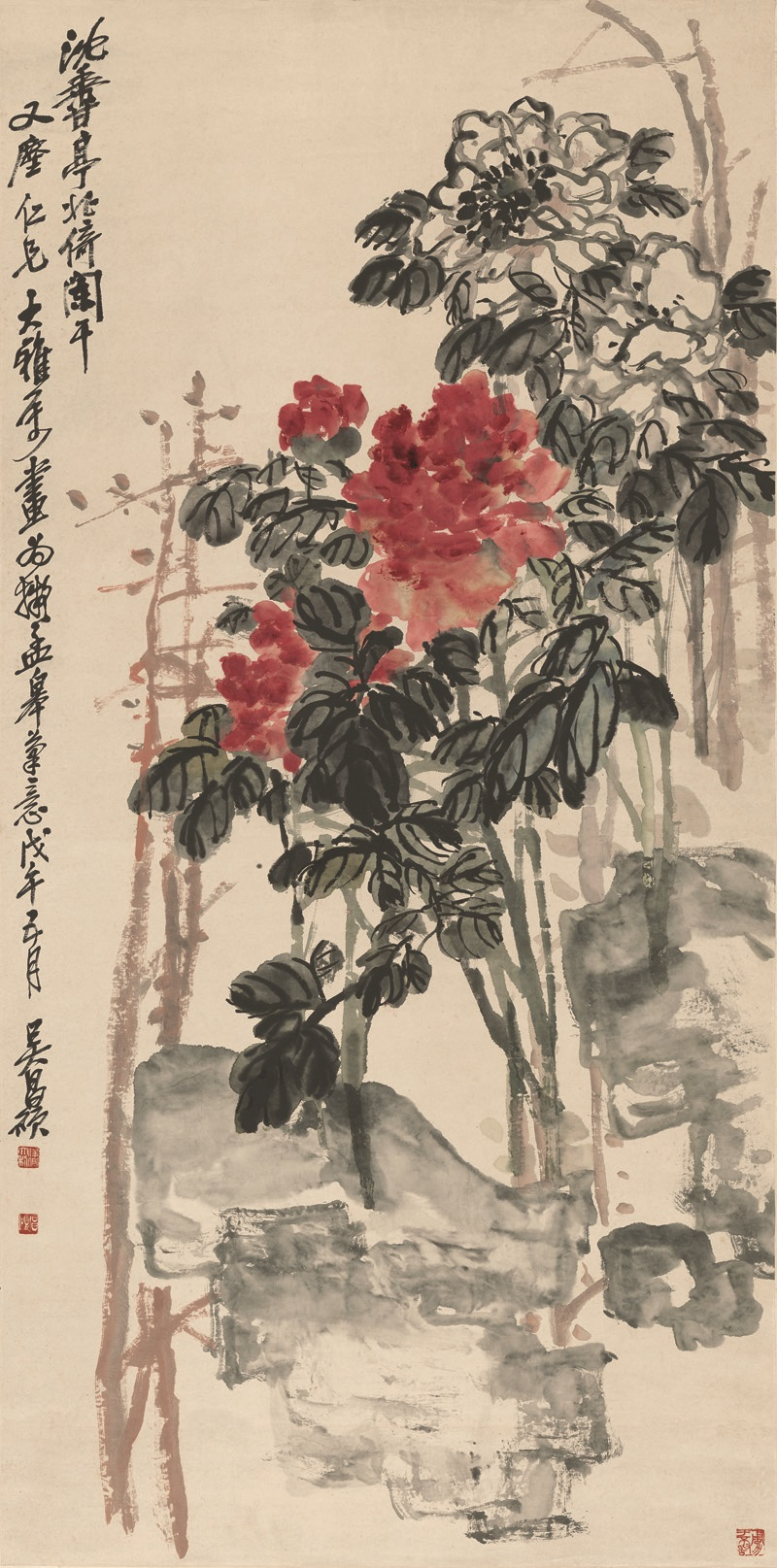 Wu Changshuo | Chinese Painting | China Online Museum Qing Dynasty Art
