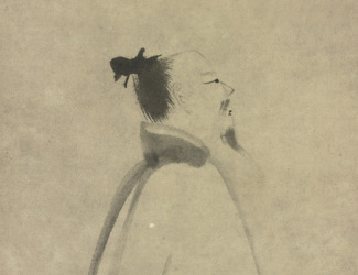 Liang Kai: Li Bai in Stroll