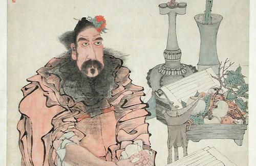 Ren Bonian: Zhong Kui