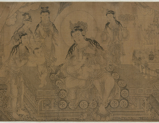 Wang Zhenpeng: Nursing the Budda