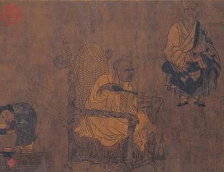 Yan Liben: Xiao Yi Acquiring Lanting