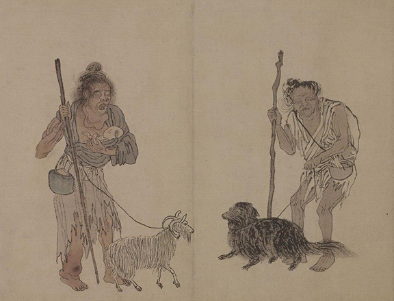 Zhou Chen: Beggars and Street Characters