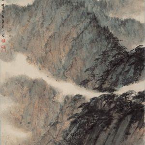 fu-baoshi_mountains-in-sichuan