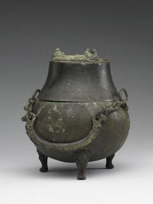 Bronze Wine Vessel Houlou