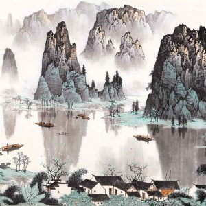 bai-xueshi_contending-greenery-among-thousands-of-peaks