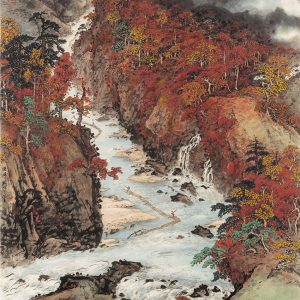 guan-shanyue_navigating-rafts-in-autumn-streams