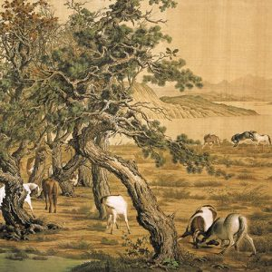 lang-shining_one-hundred-horses_part