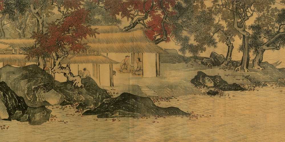 Tang Yin: Fishermen in Reclusion among Streams and Mountains