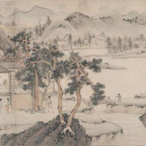 wen-zhengming_peach-blossom-spring_part