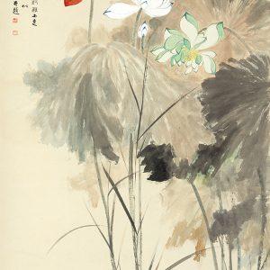 zhang-daqian_lotuses-in-five-colors