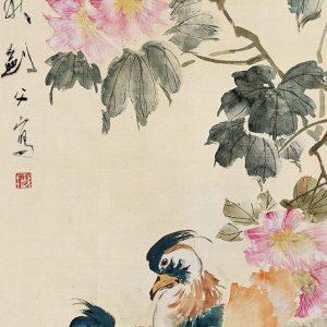 gao-jianfu_cotton-roses-and-mandarin-ducks