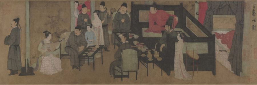 The Night Entertainments of Han Xizai