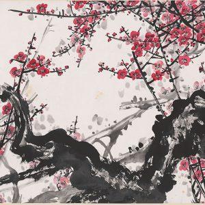guan-shanyue_red-plum