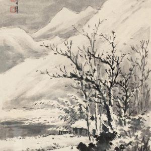 huang-junbi_clearing-after-snow-among-streams-and-mountains