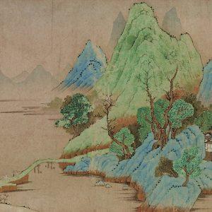 qian-xuan_dwelling-in-the-mountains