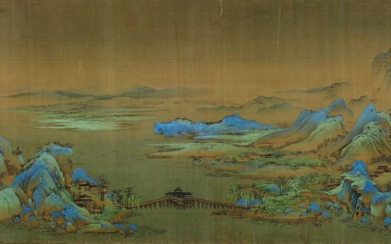 Wang Ximeng One Thousand Li Of Rivers And Mountains