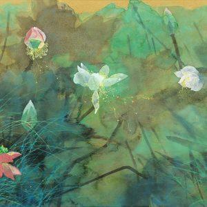 yuan-yunfu_golden-green-lotus-pond