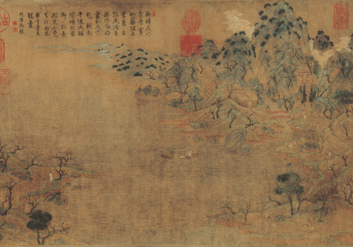 Zhan Ziqian: Spring Excursion