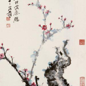 zhang-daqian_contending-for-spring