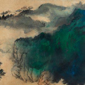 zhang-daqian_landscape-in-splashed-colors_1977