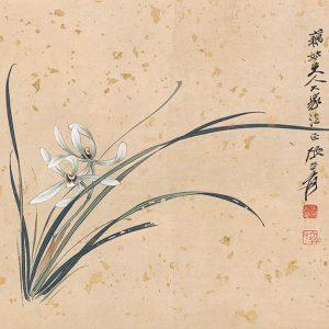zhang-daqian_orchid