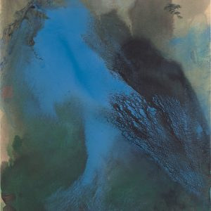 zhang-daqian_wind-in-pines-amidst-morning-mist