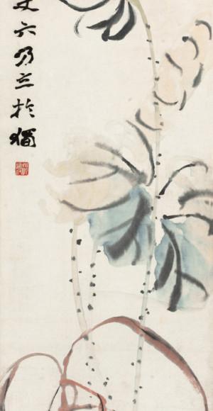 Zhao Zhiqian (1829-1884) - Lotus