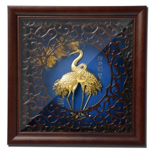 gold-leaf_double-cranes-and-pine