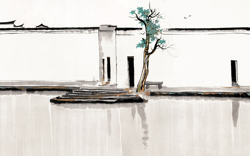 Wu Guanzhong: Beauty Beyond Form from National Gallery Singapore