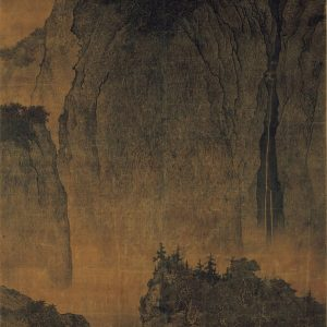 fan-kuan_travelers-among-mountains-and-streams