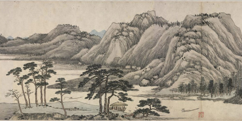 Shen Zhou: Dwelling in the Fuchun Mountains