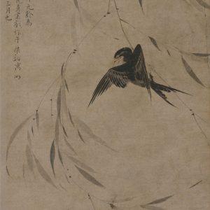 sheng-changnian_willow-and-swallows