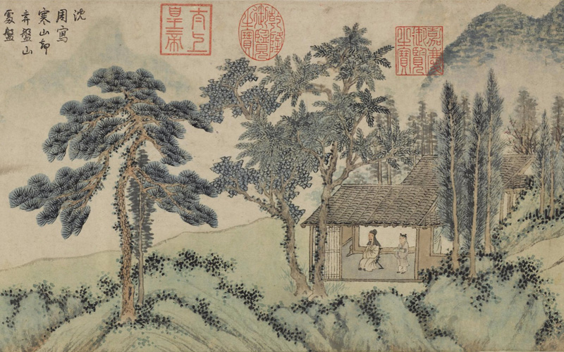 China online museum chinese art galleries home for Dynasty mural works