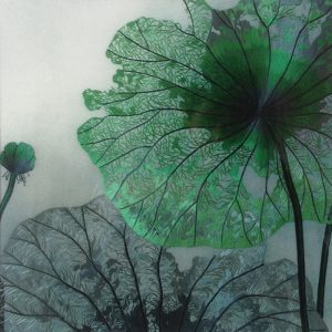 embroidery_lotus-leaves_green