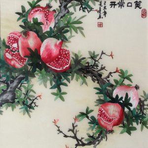 embroidery_pomegranates