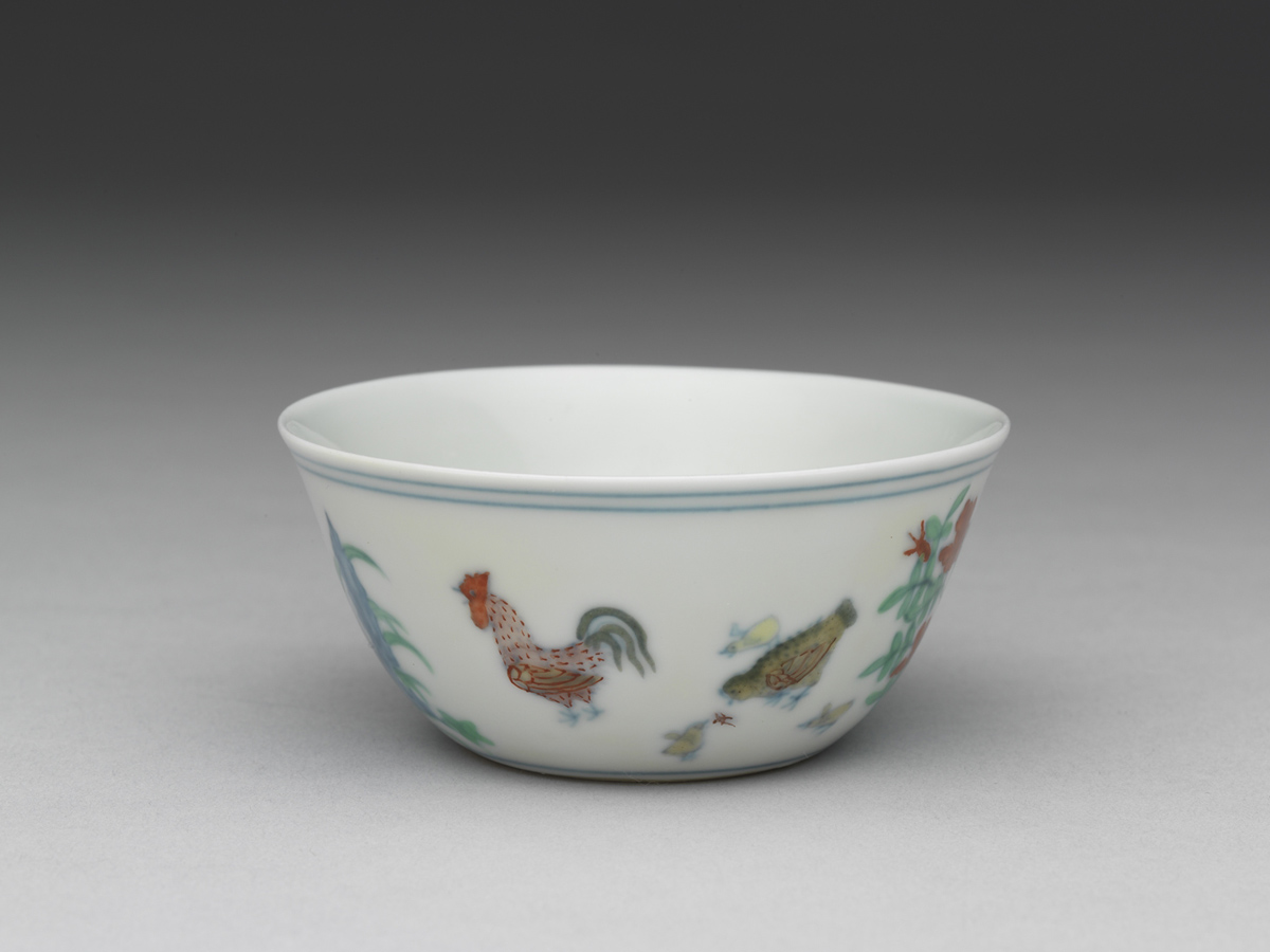 Chicken cup, National Palace Museum, Taipei