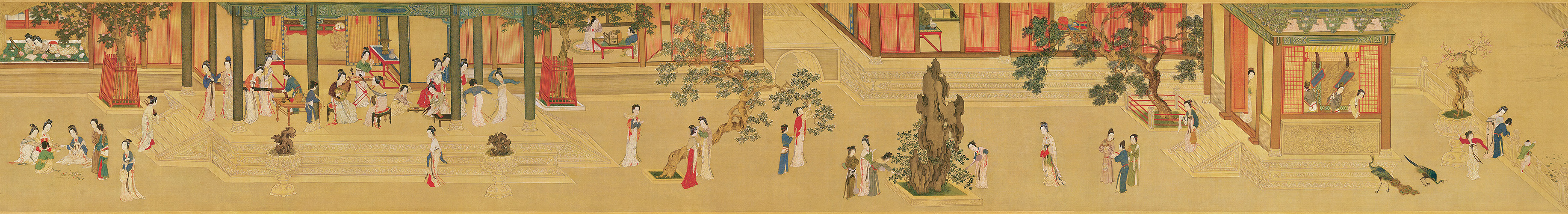 Qiu Ying Spring Morning In The Han Palace China Online
