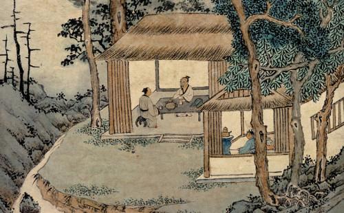 Wen Zhengming: Tasting Tea