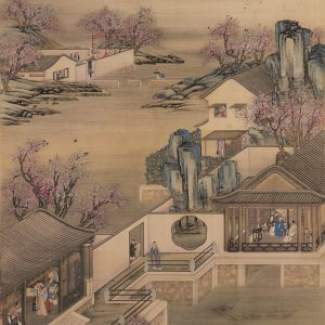 anonymous_old-summer-palace_appreciating-peach-blossoms