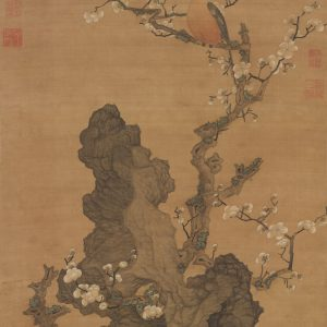 chen-hongshou_plum-blossoms-and-wild-bird