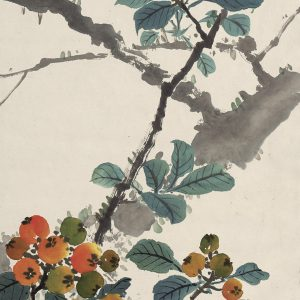 chen-shuren_loquats-and-birds