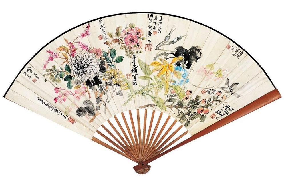 Asian fold fans