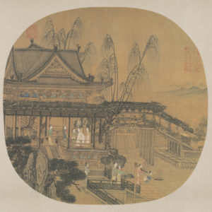 li-song_enjoying-cool-breeze-in-a-waterside-pavilion